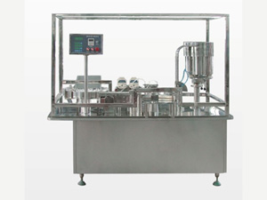 Liquid Filling and Plugging Machine